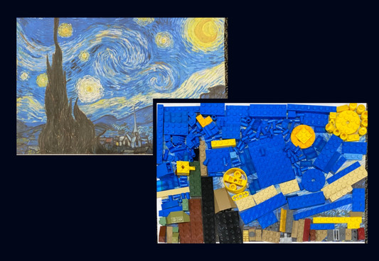 Recreating Masterpieces: Van Gogh