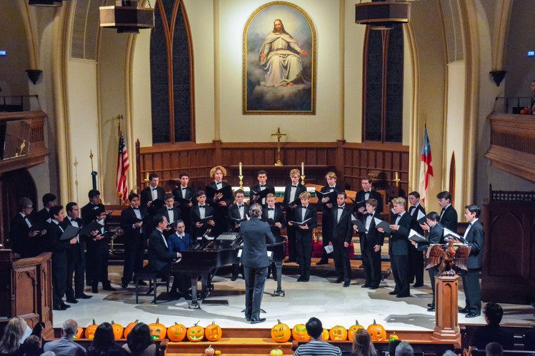 Ominous Omens Choral Concert Fall 2017