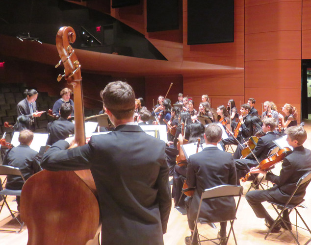 SHS Chamber Orchestra take the stage at Lincoln Center