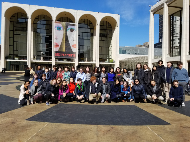SHS Chamber Orchestra trip to Lincoln Center