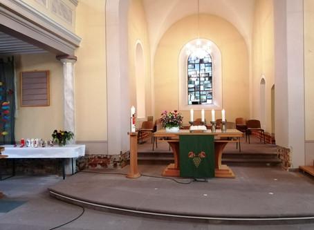 Gottesdienst am 18.10.2020 (19. Sonntag nach Trinitatis)