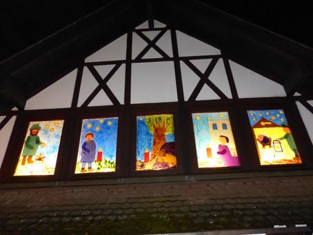 Fenster zur Weihnacht