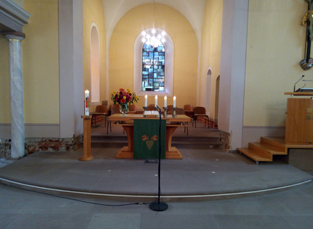 Gottesdienst am 11.10.2020 (18. Sonntag nach Trinitatis)