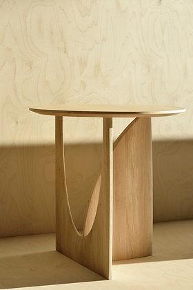 Ethnicraft, Oak Geometric Side table