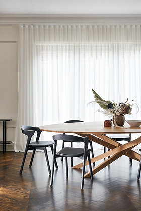 "Ethnicraft, Oak Mikado Oval Table 105"""