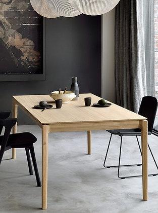 """Ethnicraft, Oak Bok Extendable Table 63-95"""""""