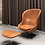 Thumbnail: Normann C, Hyg Swivel Lounge Chair
