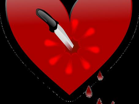 Катастрофа в  любви, развод   и затяжная депрессия.