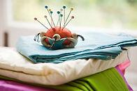 Pin Cushion On Fabric