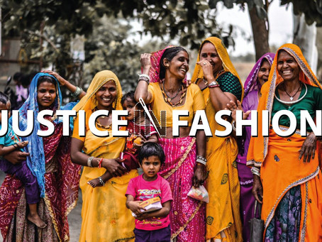 Welcome to our journey to Justice in Fashion