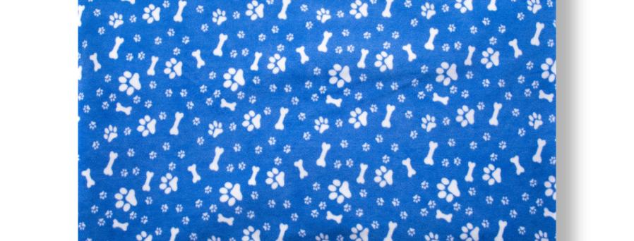 PAWS & BONES - BLUE