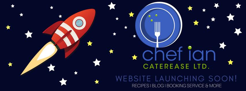 Chef Ian Website launch