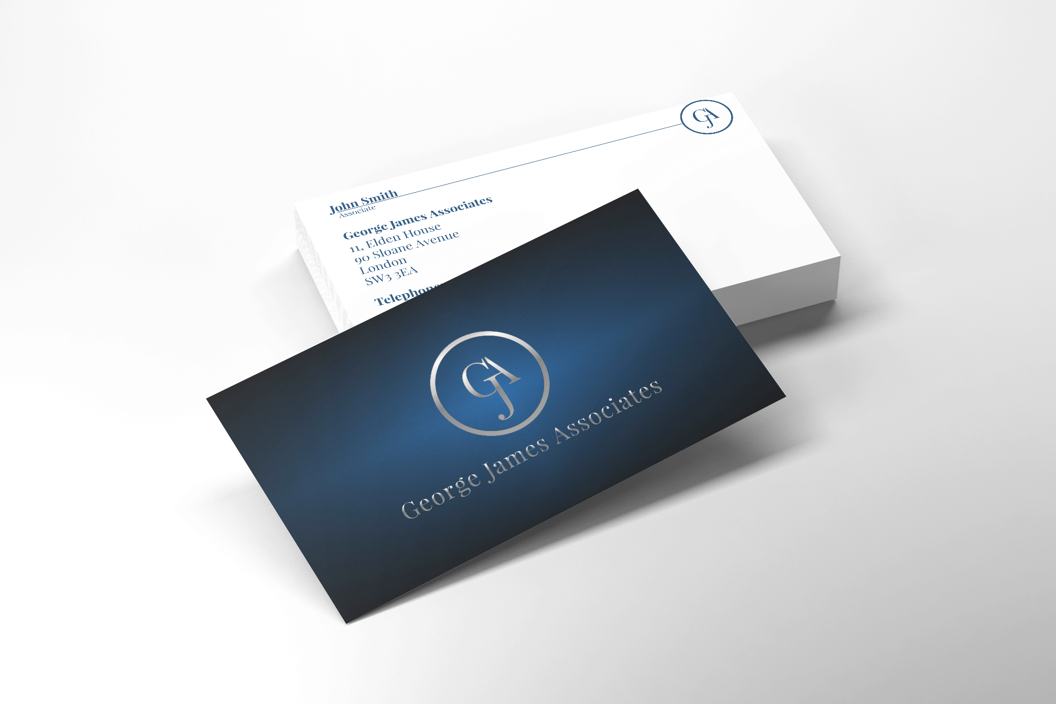 George James Business Cards