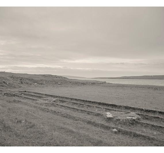 The remains of former gutter's huts, Baltasound, Unst, Shetland, 2018