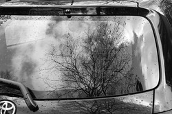 back glass