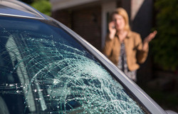 windshield-broken