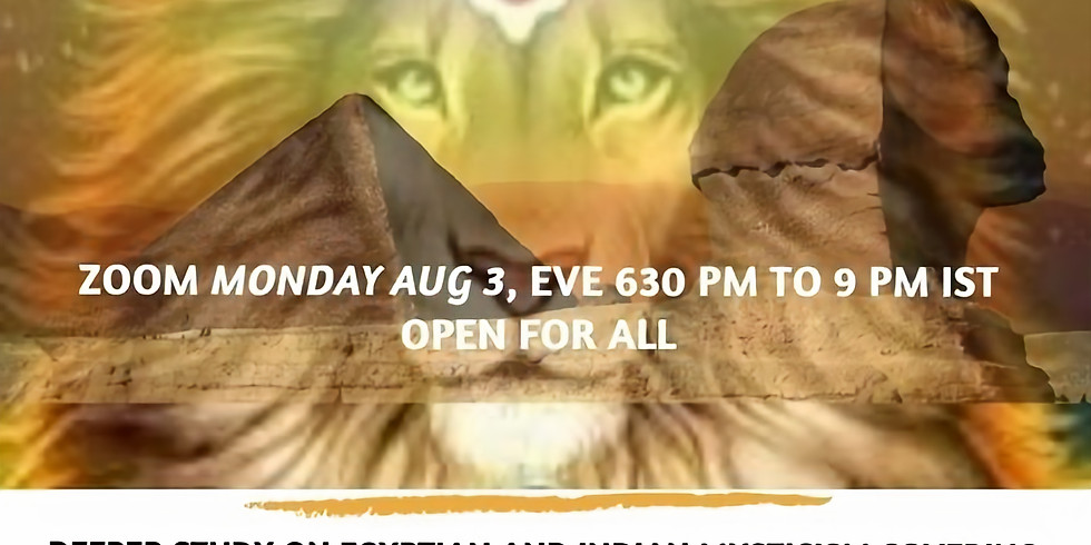 Esoteric Study Group; Narasimha and the Riddle of the Sphinx