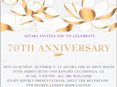 Astara Turns 70 Years Old!