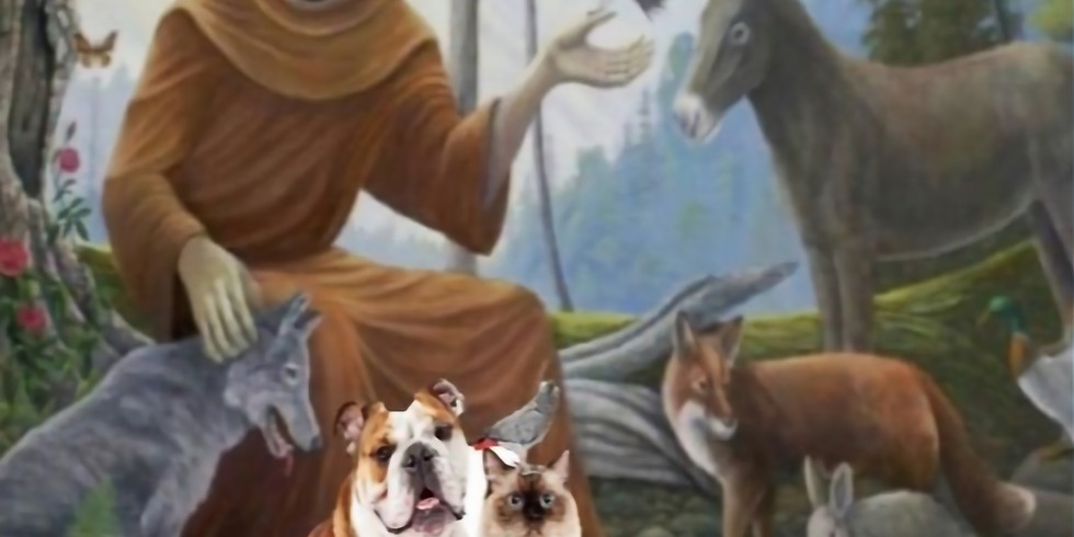 Astara's Annual St. Francis Blessing of the AnimalsCeremony