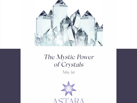 Take the Mystic Power of Crystals Class