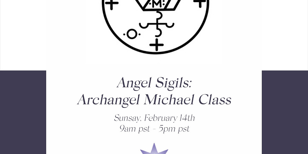 Angel Sigils: Archangel Michael Interactive workshop