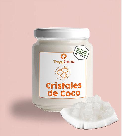 Cristales de Nata de Coco | 210 g | Frasco Vidrio Retail