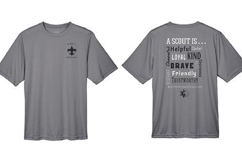Boy Scouts Performance T-Shirt in Dark Grey