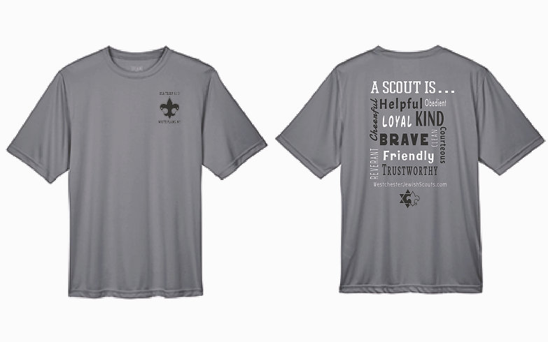 Boy Scouts Performance T-Shirt in Dark Grey