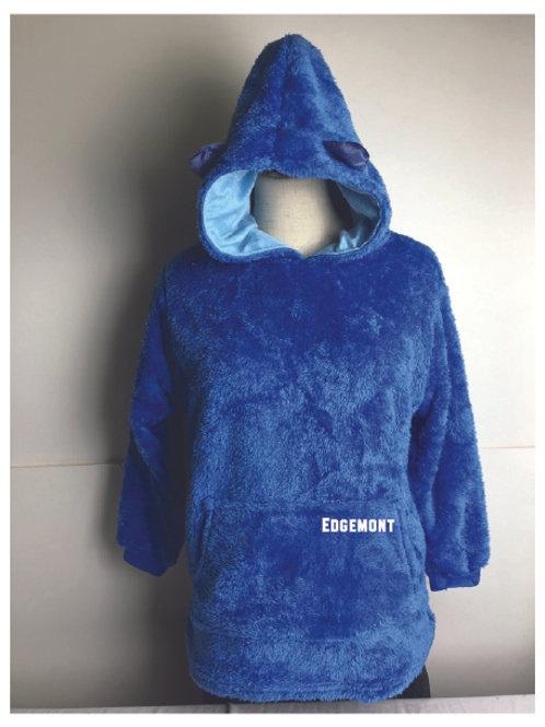 Children's Hooded Blanket with Ears