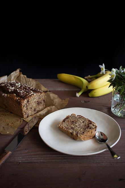 Veganes, glutenfreies Banana Bread