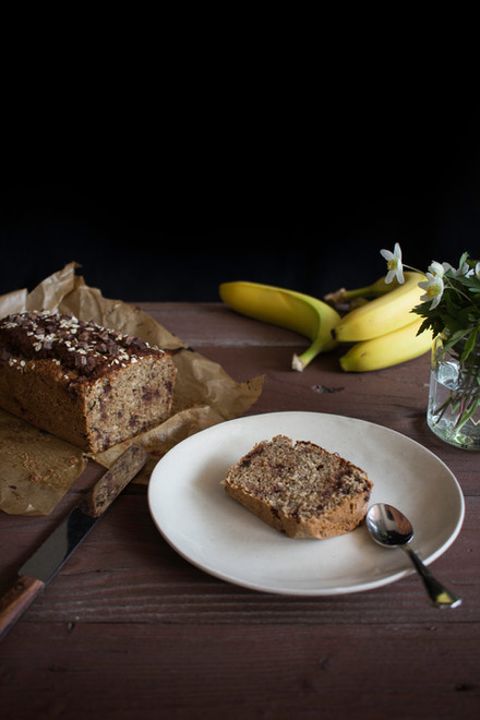 Veganes, glutenfreies Banana Bread