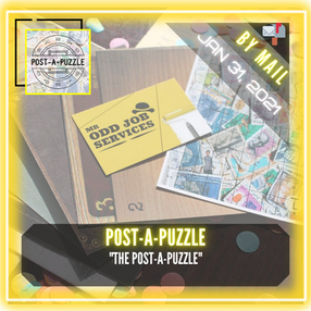 """Post-A-Puzzle By Escape Rooms Cardiff - """"Post-a-Puzzle"""""""