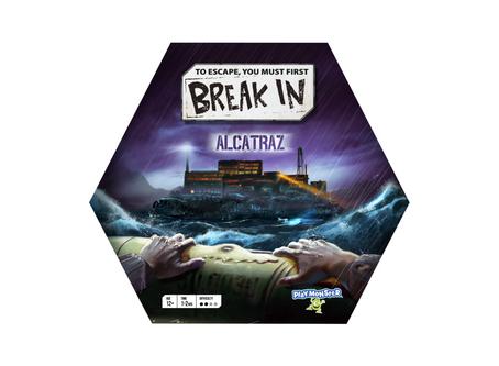 "📬.    Streamline Design + BlueMatter games (Manufactured by PlayMonster) - ""Break In Alcatraz"""