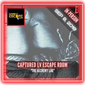 """Captured LV Escape Room - """"The Pirate's Chamber"""""""