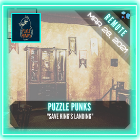 "REMOTE:  Puzzle Punks - Dubrovnik Escape Room - ""Save King's Landing"""