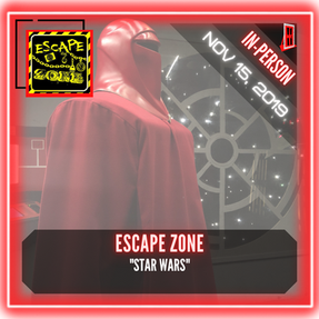 "Escape Zone - Live Escape Game - ""Star Wars"""