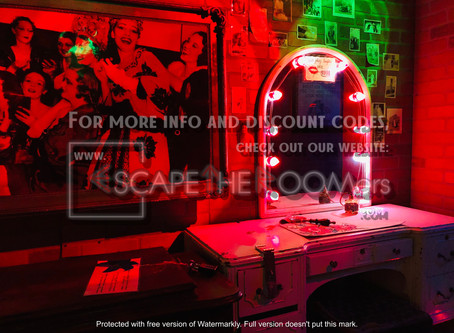"Captured LV Escape Room - ""The Haunted Theatre"""