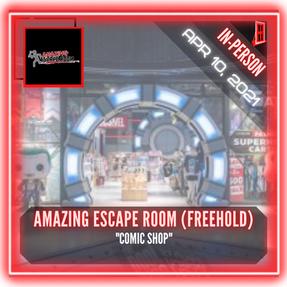 "Amazing Escape Room (Freehold) - ""Comic Shop"""