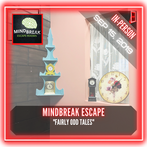 "MindBreak Escape - ""Fairly Odd Tales"""