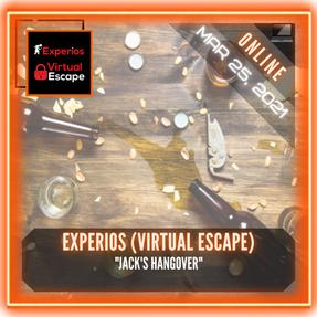 """Experios (Virtual Escape) - """"Jack's Hangover"""""""