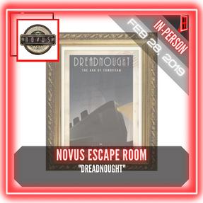 """Novus Escape Room (Middletown) - """"Dreadnought"""""""
