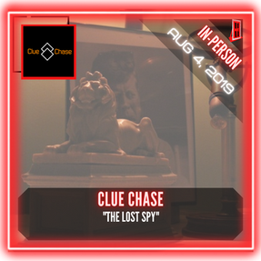 """Clue Chase - """"The Lost Spy"""""""