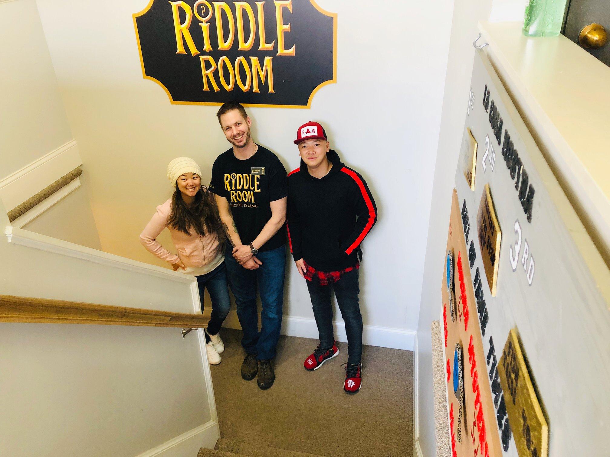 RI Riddle Room (East Greenwich)