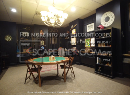 """The Great Escape Room (Providence) - """"Professor Moriarty's Game Room"""""""