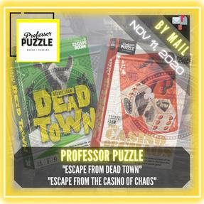 "Professor Puzzle - ""Escape from Dead Town"" & ""Escape from the Casino of Chaos"""