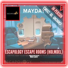 "Escapology Escape Rooms (Holmdel) - ""Mayday"""