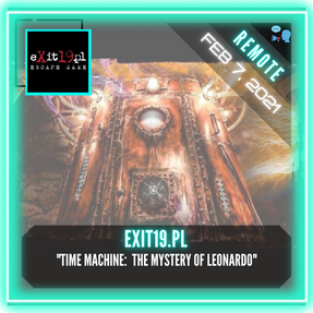 "REMOTE:  Exit19.pl - ""Time Machine:  The Mystery of Leonardo"""