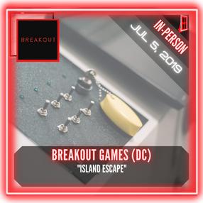 "Breakout Games DC - ""Island Escape"""