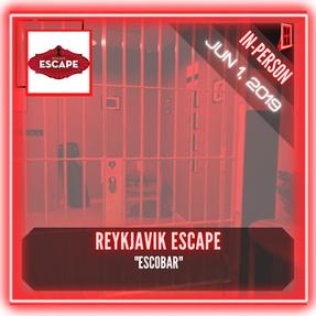 """Reykjavik Escape - """"Escobar"""""""