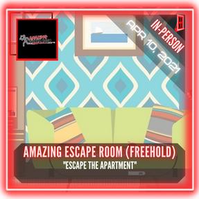 "Amazing Escape Room (Freehold) - ""Escape The Apartment"""